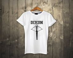 DIXON The Walking Dead T shirt Daryl Dixon UNISEX T shirt Crossbow