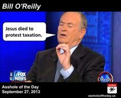 Bill o reilly asshole