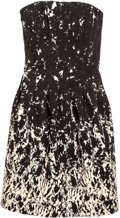 Pin for Later: Be the Best Dressed Wedding Guest, Whatever Your Budget $100 and Under H&M Strapless Dress ($60)