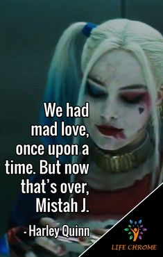 Harley Quinn quotes are the quotes for you to be inspired and get done more. Harley And Joker Love, Joker And Harley Quinn, Hero Quotes, Joker Quotes, Quotes By Famous People, People Quotes, Evil Queen Quotes, Psychopath Quotes, Harly Quinn Quotes