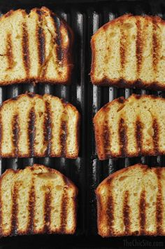 How to Grill Pound Cake ~ It is so easy to take a basic store-bought dessert and turn it into a party ready dessert