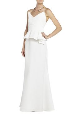 This would be a perfect alternative wedding dress. From BCBG