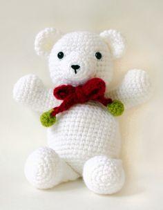 free crochet patterns to print   Free Crochet Pattern 70704AD Bear in a Jif : Lion Brand Yarn Company