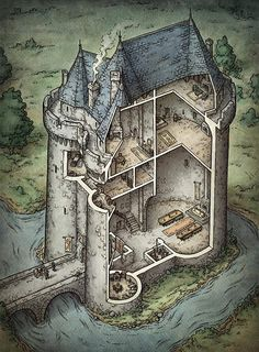 6cf138b7dc528c95f2d8895a3a40be12--dungeon-maps-fantasy-map.jpg (636×864)