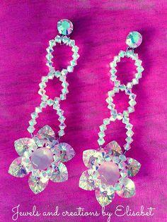 Swarovski earrings in full bloom by JewelsbyElisabet on Etsy, $180.00