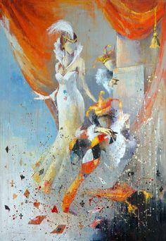 """Gulden's Wedding: Trump Card"" 100 x 81 cm, oil on canvas  by Artist Anna Ravliuc  Price on application: annasnail@email.com Trump Card, Artists Like, Find Art, Art For Sale, Oil On Canvas, Saatchi Art, Modern Art, Sculpture, Wedding"