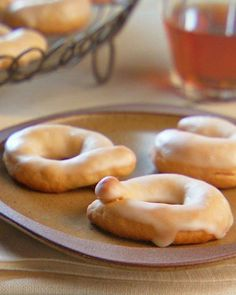Wine Taralli Cookies Recipe -- These traditionally savory Italian cookies are made sweet with Marsala wine and a light lemon glaze