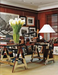 Ralph lauren 39 s manhattan office manhattan office spaces for Ralph lauren office furniture