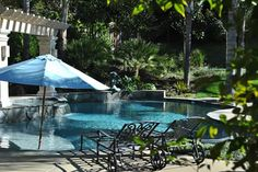 One of the gorgeous local pools we've worked on here in Northern California's Bay Area -- who else wants to lounge here? Swimming Pool Repair, Swimming Pools, Aqua Pools, Northern California, Bay Area, Lounge, Patio, Gallery, Outdoor Decor