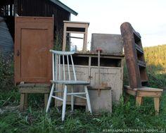 Vanhat huonekalut, old furniture,