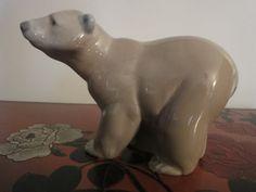 LLADRO Polar Bear figurine 4 inches high