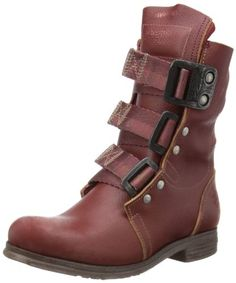 Fly London STIF, Damen Biker Boots, Rot (Red 003), 37 EU (4 Damen UK) - http://on-line-kaufen.de/fly-london/37-eu-fly-london-stif-damen-biker-boots-7