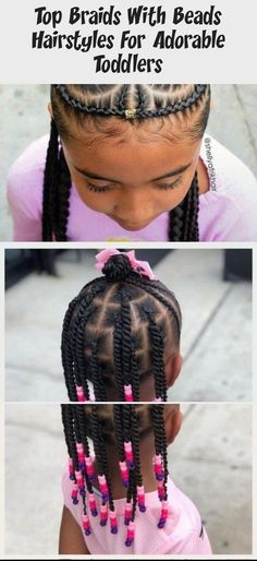 Black Kids Braids Hairstyles, Natural Hairstyles For Kids, Baby Girl Hairstyles, Natural Hair Styles For Black Women, Braids For Short Hair, Hairstyles Videos, Braided Hairstyles, Toddler Hairstyles, Baddie Hairstyles
