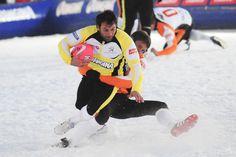 On savait déjà que les rugbymen n'étaient pas du genre à avoir froid aux yeux mais là il faut croire qu'ils n'ont pas froid du tout ! Pour la troisième année les différentes équipes se rencontreront lors d'épreuves de slalom, skicross et luge  ainsi que lors de matchs de rugby...la suite sur le blog! :)