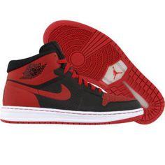 Air Jordan Alpha 1 (black / varsity red / white) - Shoes