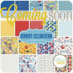 Summer Celebration - Fat Quarter Bundle (FQ-4440-18) by Designs by Dani for Riley Blake