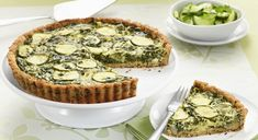 Set in a gluten-free crust, this spinach, zucchini and goat cheese tart will make other dishes green with envy. Serve it as an elegant brunch, light lunch or casual dinner. Get this recipe from Sobeys.
