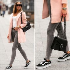 Spring Fashion Outfits, Fall Winter Outfits, Tom Ford Sunglasses, Vans Sneakers, Jeggings, Outfit Of The Day, Normcore, Sporty, Michael Kors