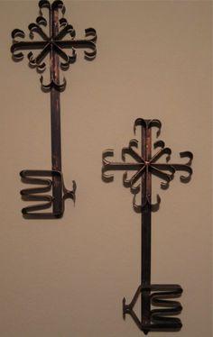 Antique Key Wall Art   to Antique Keys - Set of 4- Vinyl Wall ...
