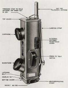 Handie-Talkie SCR536 Radio