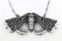 Planchette+Moth+Necklace+–+Blood+Milk+Jewels