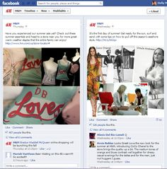 H&M: Facebook Fan Page Example in Detail #17   Ignite Social Media