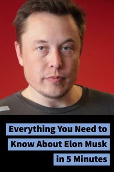 Elon Musk bio: everything you need to know about the SpaceX and Tesla founder. Elon Musk bio: everything you need to know about the SpaceX and Tesla founder.