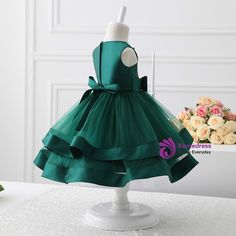 2017 flower girl dresses green tulle flower girl You are in the right place about flower girl dresse Green Flower Girl Dresses, Toddler Flower Girl Dresses, Tulle Flower Girl, Little Girl Dresses, Green Dress, Girls Dresses, Frocks For Girls, Kids Frocks, Baby Birthday Dress