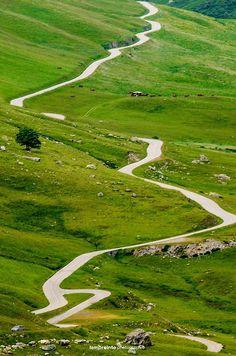 """Col de la Croix de Fer (""""Pass of the Iron Cross""""), French Alps by L'Empreinte Photographie"""
