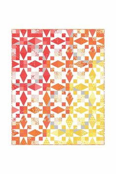 Sunrise Quilt Pattern-V and Co