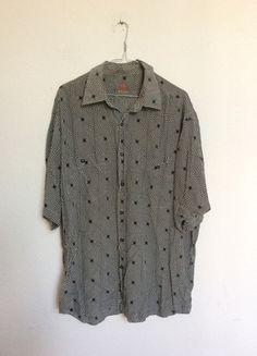 Kaufe meinen Artikel bei #Kleiderkreisel http://www.kleiderkreisel.de/herrenmode/hemden/132582416-einmaliges-vintage-hemd-bluse-unisex