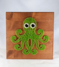 Wall Decor – Octopus wall decor, art, for Kids room or Nursery – a unique product by Good-Lights on DaWanda