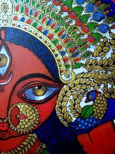 Ma Durga Rangoli