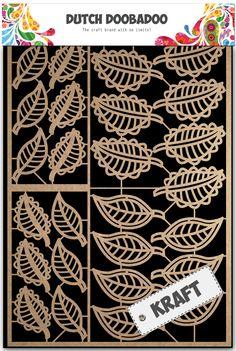 472.002.008 Dutch Doobadoo Paper Art bladeren