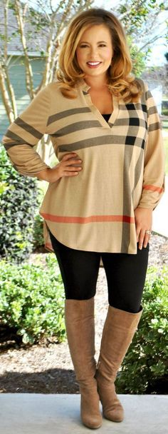 40 Plus Size Fashion Outfits Inspiration - Plus Size Winter Outfits for Women - Ideas of Plus Size Winter Outfits for Women - Plus Zise, Mode Plus, Plus Size Fall Outfit, Dress Plus Size, Casual Plus Size Outfits, Plus Size Boots, Plus Size Winter Outfits, Plus Size Winter Clothes, Plus Size Hair
