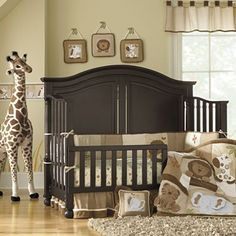 Bedford Baby Monterey 3-pc. Baby Furniture Set - Chocolate, Beige