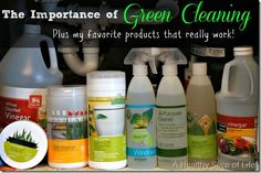 Green Cleaning at Home. Good review of Shaklee Cleaning Products.  http://jmpico3.myshaklee.com/