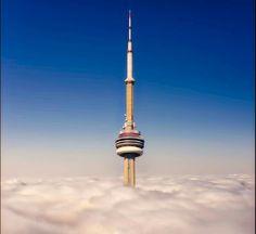 Canada, Cn Tower, Building, Toronto Canada, Buildings, Construction