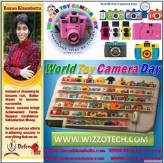 World Toy Camera Day World Toy Camera Day is the yearly event that honours the ridiculous photo taking capacity of outdated toy cameras. This festive occasion is celebrated on the third Saturday of October with minor exceptions mainly because the inventor at WTCD.org feels like it.  #RuzanKhambatta #Day #specialcelebration #PoliceHEART1091 #PoliceHEART #Entrepreneur #Celebrate #WorldDay #National #NationalDay #InternationalDay #International #UN #US #SpecialDay #India #WorldToyCameraDay