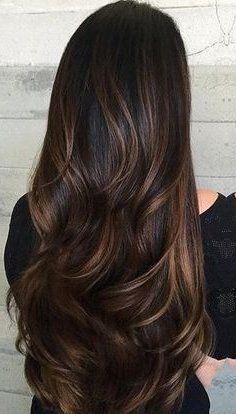 Are you looking for dark winter hair color for blondes balayage brunettes? See our collection full of dark winter hair color for blondes balayage brunettes and get inspired! Brunette Hair With Highlights, Colored Highlights, Summer Highlights, Dark Hair With Caramel Highlights, Chestnut Highlights, Asian Hair Highlights, Balayage Highlights, Brunette With Lowlights, Natural Highlights