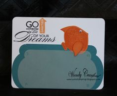 Luvin Stampin Up: If wishes were fishes we'd all have a fry!