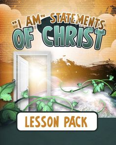 I Am Statements of Christ Lesson Pack