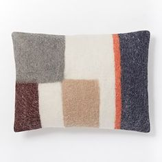 Knotted Stripe Pillow Cover - Nightshade | west elm
