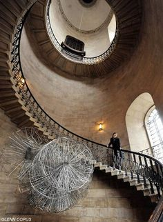 Antony Gormley sculpture in St Paul's 'stunning' staircase - News - London Evening Standard