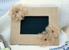 Rustic Chalkboard Sign or Wedding Table Number by Circle25Designs, $13.50