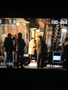 Jen, Lana, Sean. Josh & Ginny filming for the finale - 1st April 2015