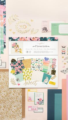 This all in one project pad at JOANN is perfect for all your crafting needs. It includes hundreds of stickers, specialty paper, and basic cardstock. Scrapbook Paper Crafts, Scrapbooking, Specialty Paper, Joanns Fabric And Crafts, Flourish, Craft Stores, Make Your Own, Journals, Card Stock