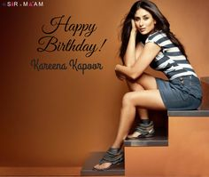 Here's Sir N Maam Wishing Happy Birthday to the Gorgeous lady in the B-town, Kareena Kapoor Khan!! #HappyBirthdaykareena #kareenaKapoor #Bebo #Celebritiesbirthday #BirthdayWishes