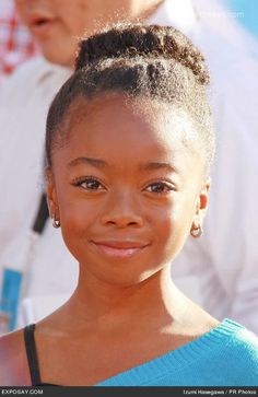 skai jackson' s hair is just like mine i can do my hair like this to
