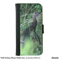 Wild Turkey, iPhone Wallet Case. iPhone 6 Wallet Case